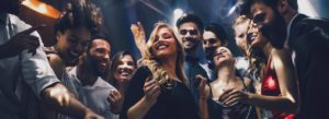 Nightclub-and-Bar-Insurance-Friends-Dancing-at-a-Club-and-Having-Fun-Together